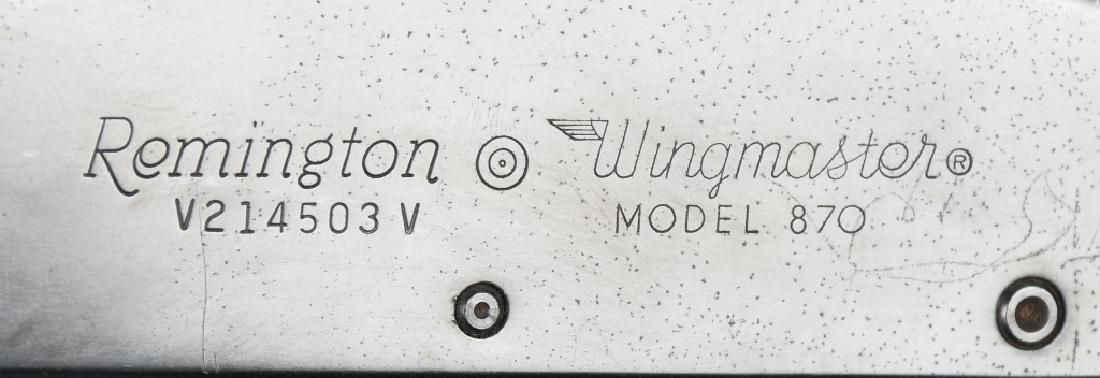 REMINGTON MODEL 870 WINGMASTER 12 GA SHOTGUN - 9