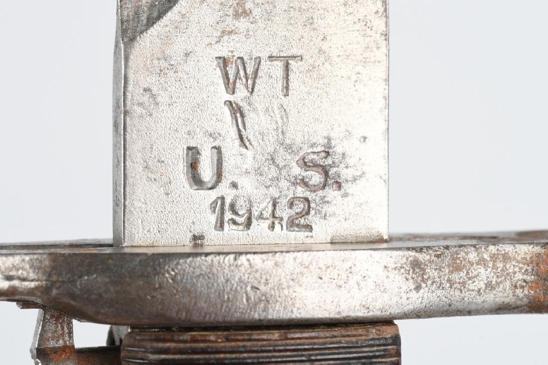 WWII U.S. GARAND & FOREIGN GARAND BAYONET LOT - 10