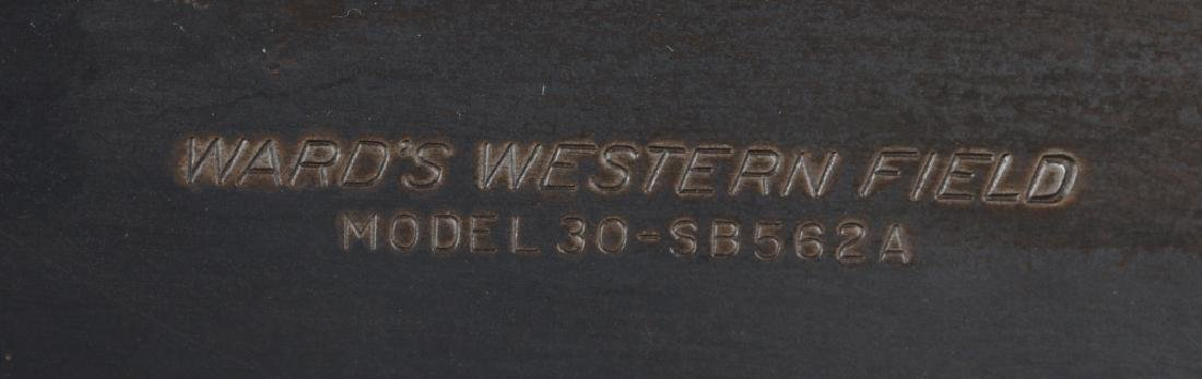 WARD'S WESTERN FIELD MODEL 30 16GA, PUMP SHOTGUN - 10