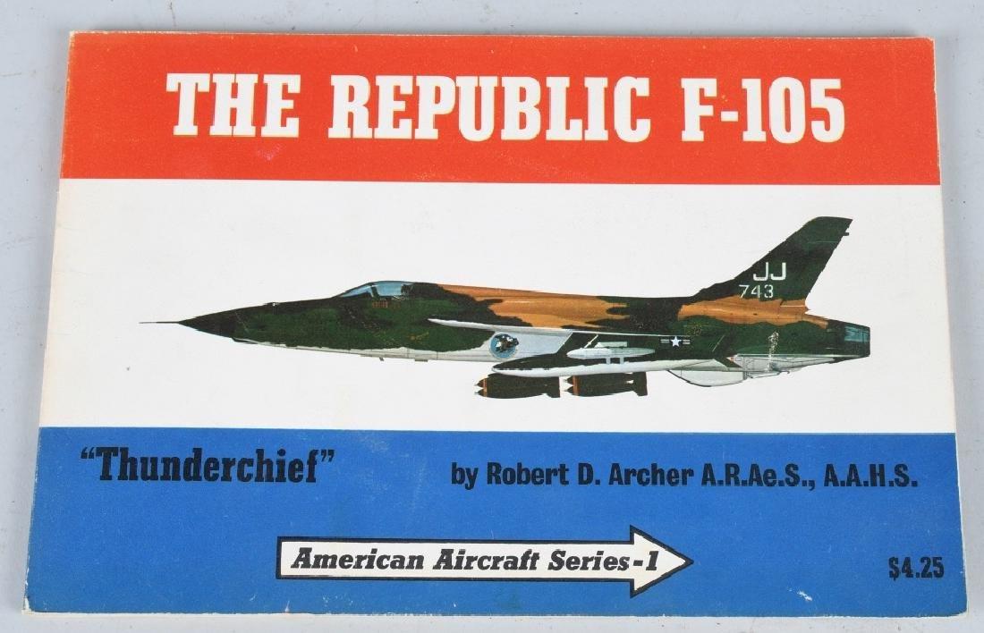 VIETNAM WAR F-105F MODEL GIVEN -100 MISSION PILOTS - 7