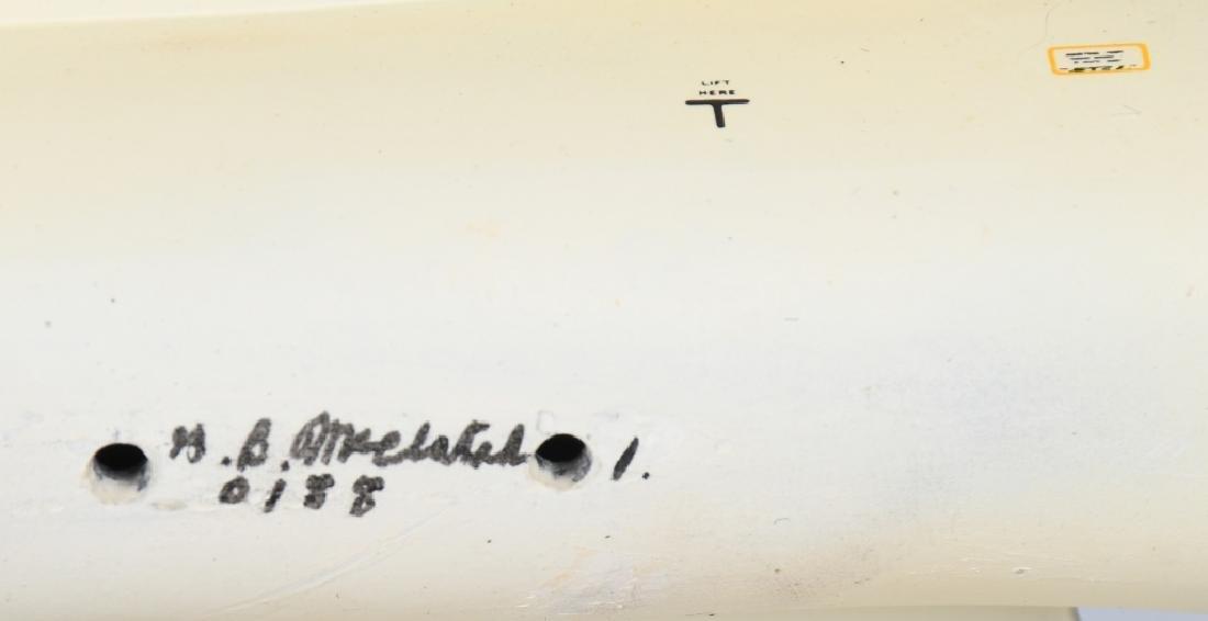 VIETNAM WAR F-105F MODEL GIVEN -100 MISSION PILOTS - 9