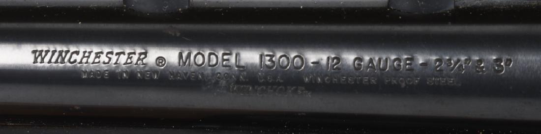WINCHESTER MODEL 1300, 12 GA. PUMP SHOTGUN - 9