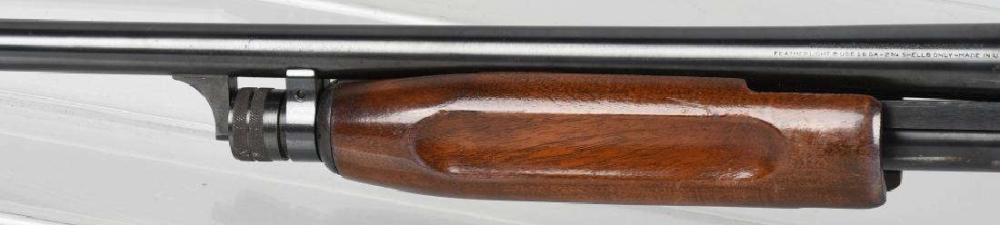 ITHACA MODEL 37, FEATHERLIGHT, 16 GA. SHOTGUN - 8