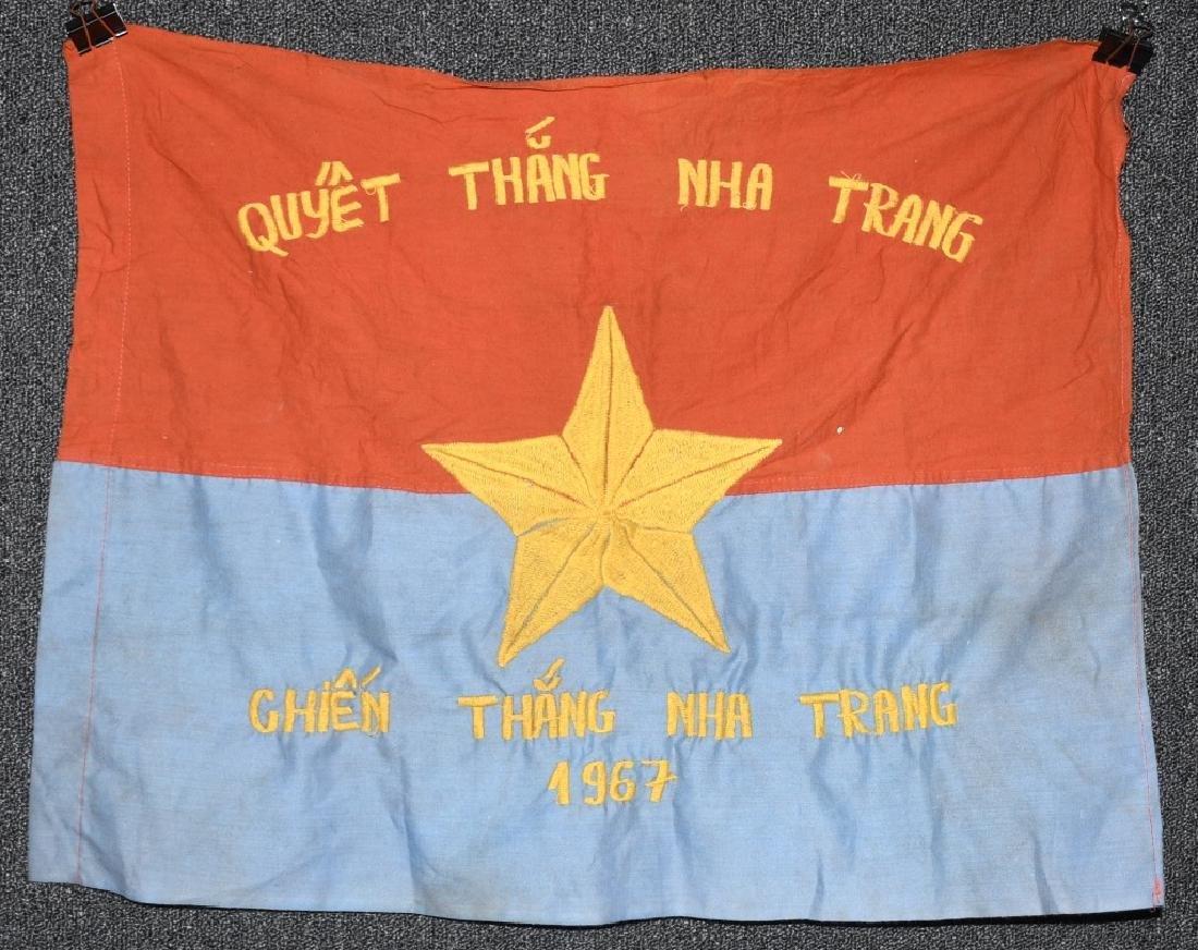 VIETNAM WAR - NVA FLAG - 1967