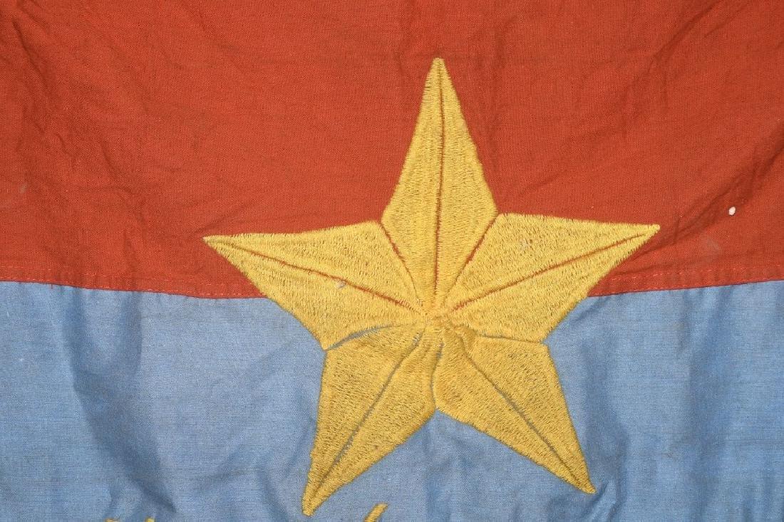 VIETNAM WAR - NVA FLAG - 1967 - 4