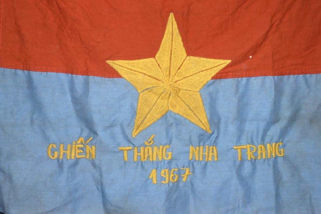 VIETNAM WAR - NVA FLAG - 1967 - 5