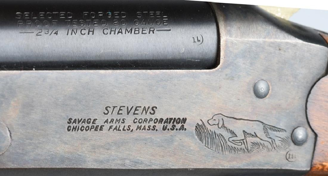STEVENS MODEL 940, 20 GA. SINGLE SHOT SHOTGUN - 9