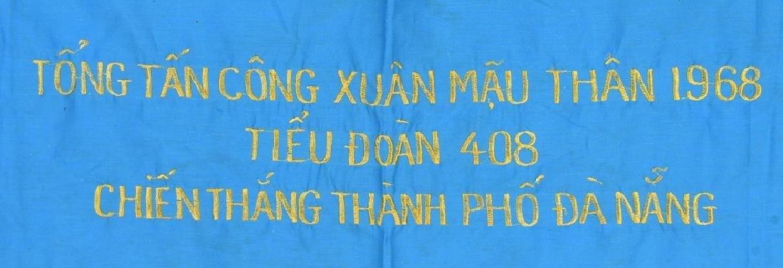VIETNAM WAR NVA FLAGS AND USMC RING - 3