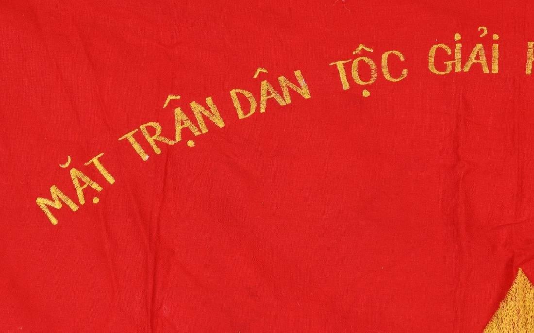 VIETNAM WAR NVA FLAGS AND USMC RING - 4