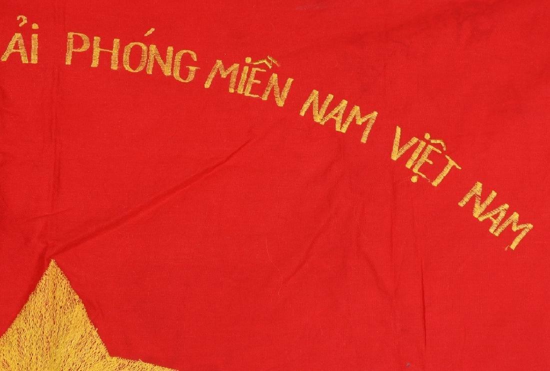 VIETNAM WAR NVA FLAGS AND USMC RING - 5