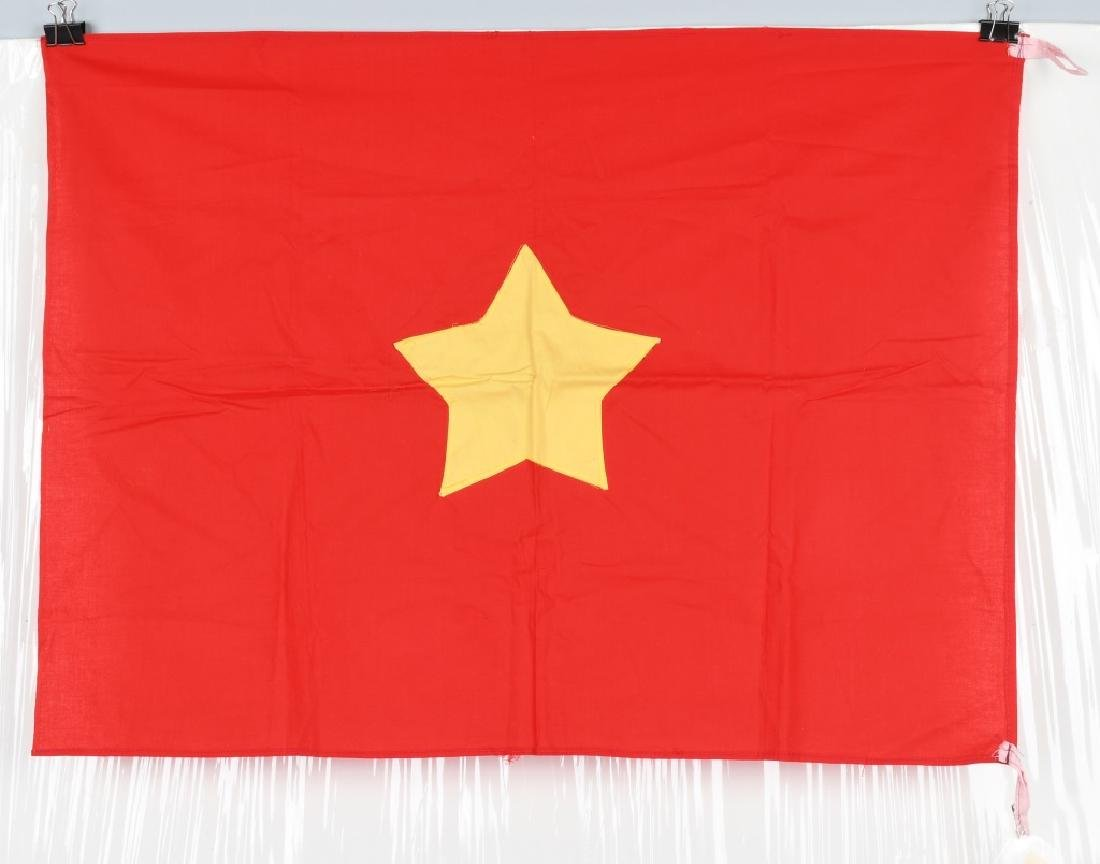 VIETNAM WAR NVA FLAG SENT TO U.S. CONGRESSMAN 1967 - 2