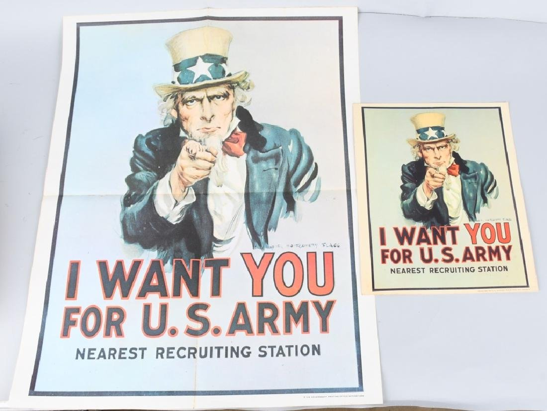 VIETNAM US UNCLE SAM I WANT YOU RECRUITING POSTERS