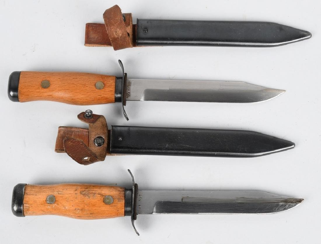 POLISH PARATROOPER KNIFE LOT - 1950S