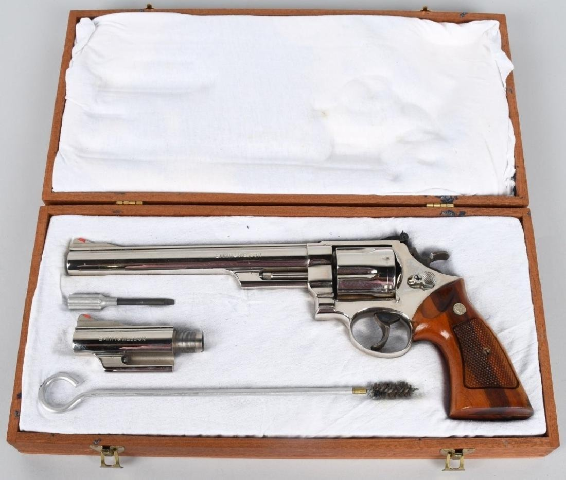 SMITH & WESSON, 29-2 .44 MAG REVOLVER, BOXED