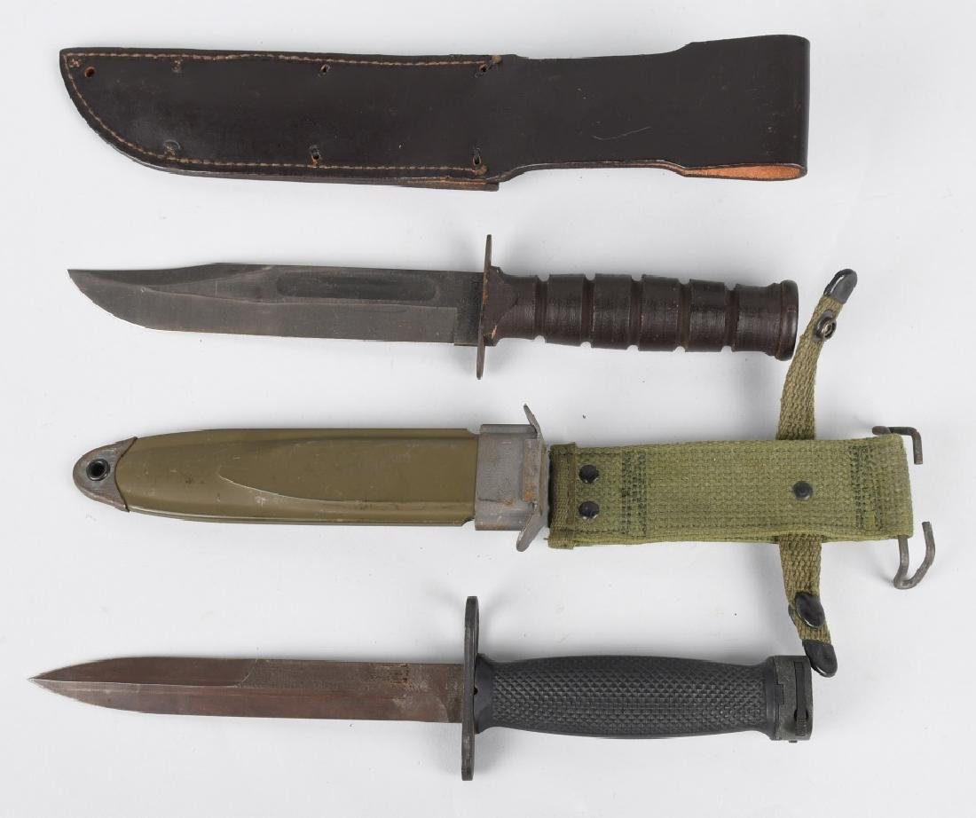 U.S. BAYONET & FIGHTING KNIFE LOT - 5