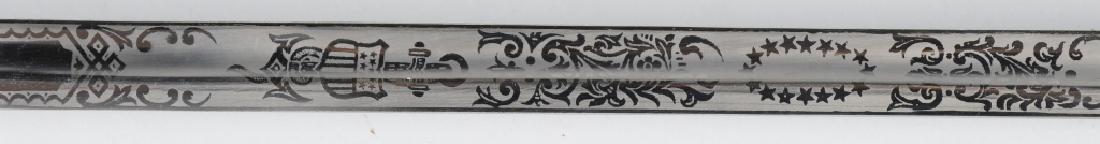 U.S. NAVY M 1852 NAVAL OFFICER'S SWORD C1960 - 6
