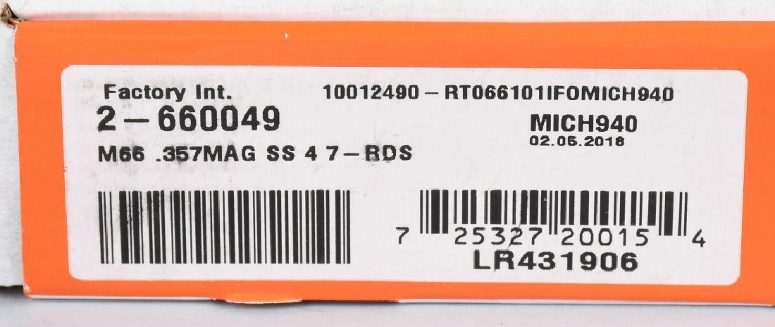 TAURUS MODEL 66, 357 REVOLVER, BRAND NEW , BOXED - 5
