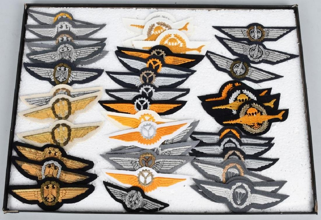 GERMAN AIR FORCE WINGS AND INSIGNIA LOT