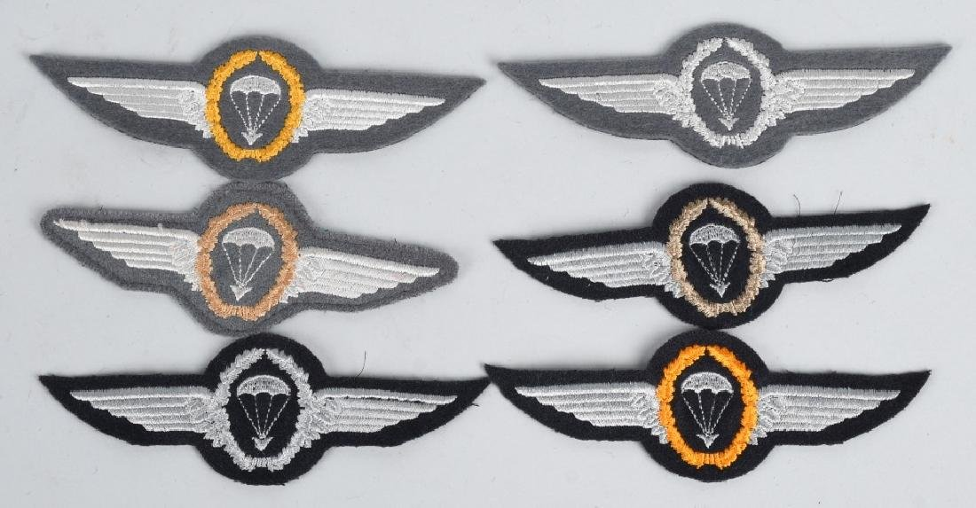 GERMAN AIR FORCE WINGS AND INSIGNIA LOT - 3