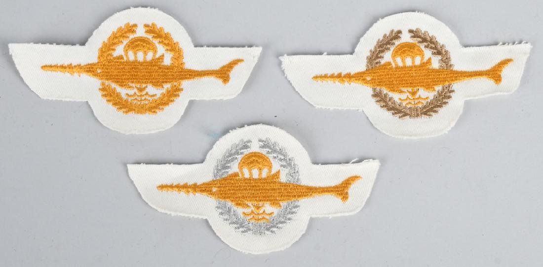 GERMAN AIR FORCE WINGS AND INSIGNIA LOT - 4