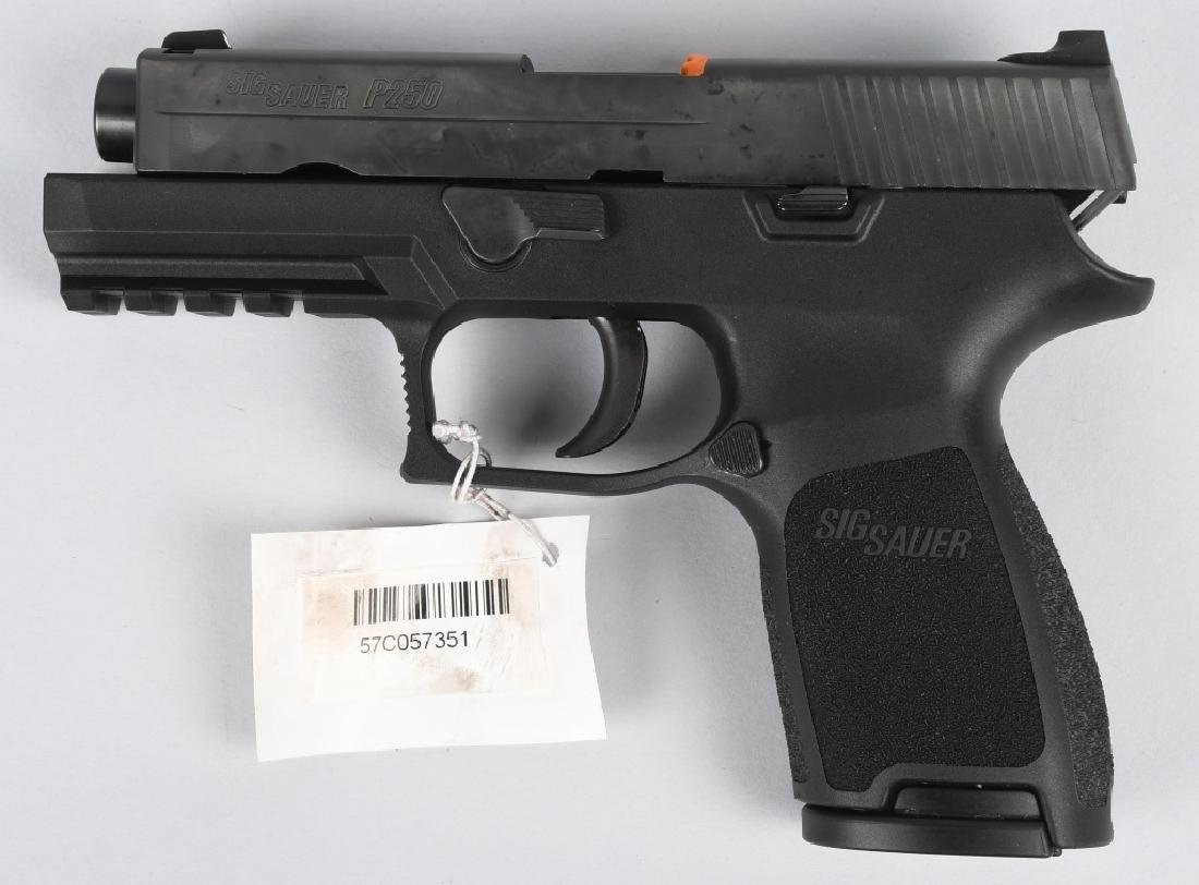 SIG SAUER P250, .45 PISTOL, BRAND NEW, BOXED - 3