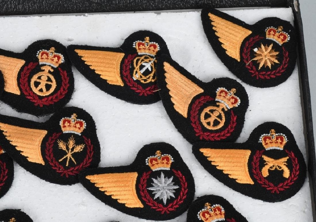 CANADIAN AIR FORCE WINGS LOT - 10