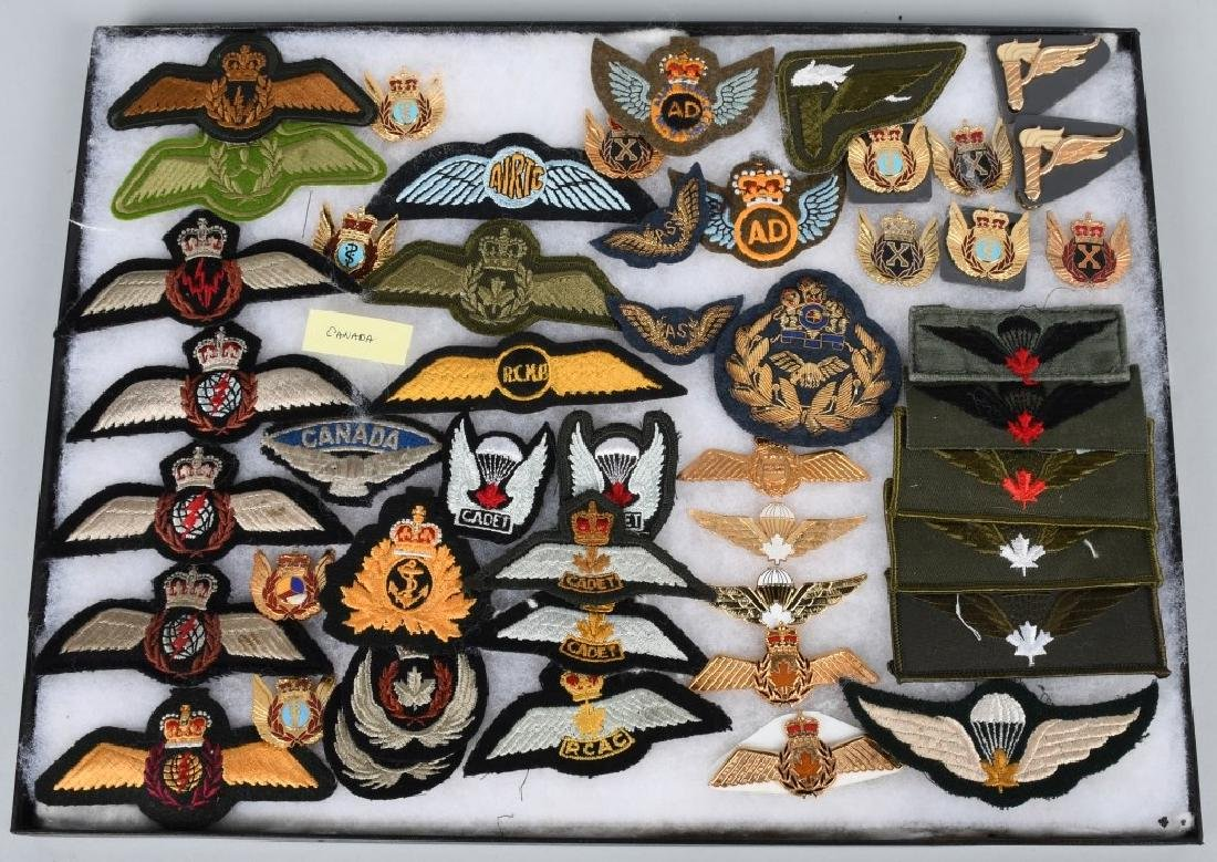 CANADIAN AIR FORCE WINGS LOT - 2