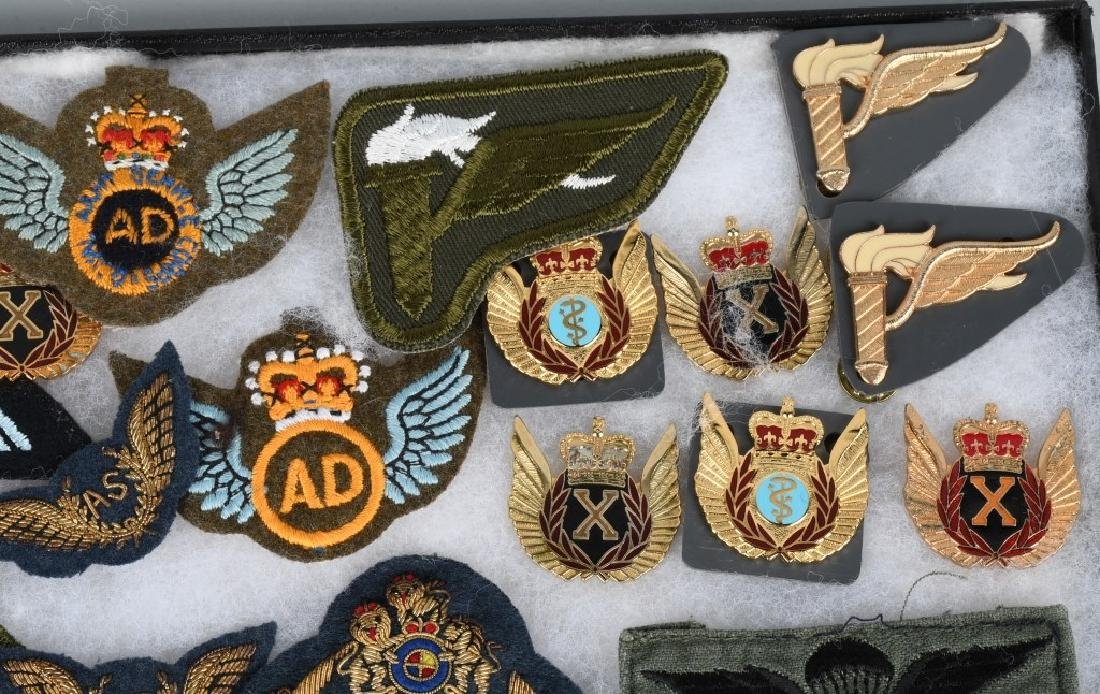 CANADIAN AIR FORCE WINGS LOT - 4
