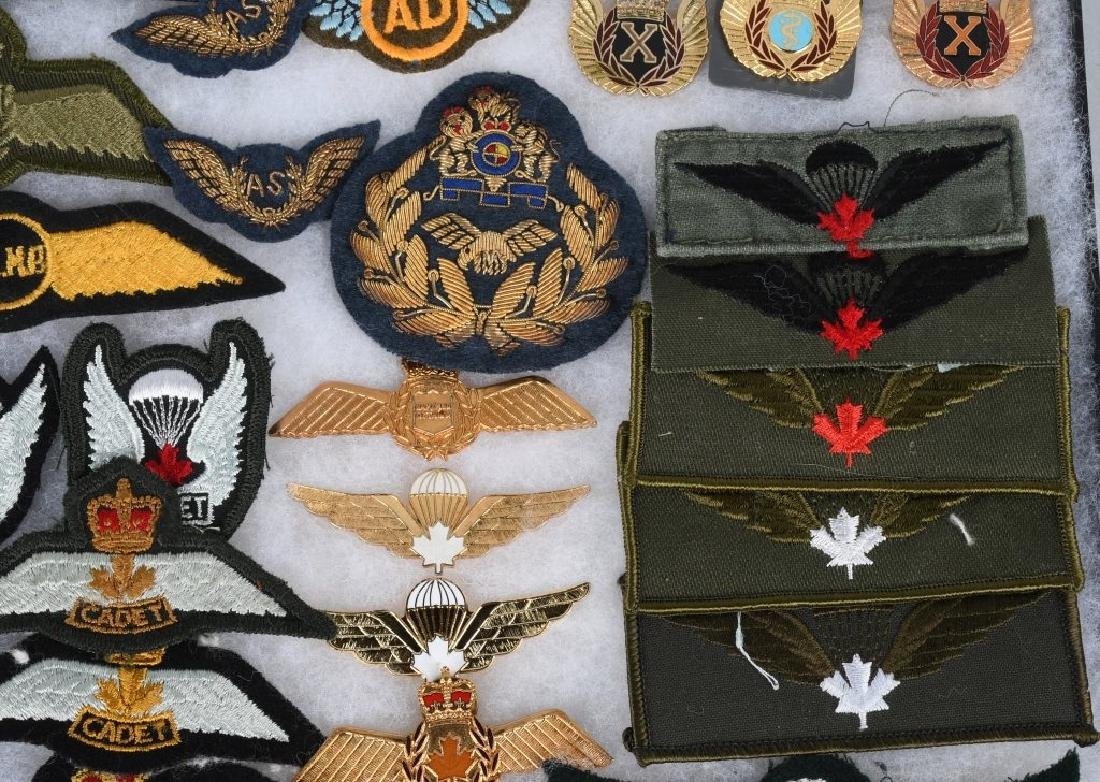 CANADIAN AIR FORCE WINGS LOT - 5