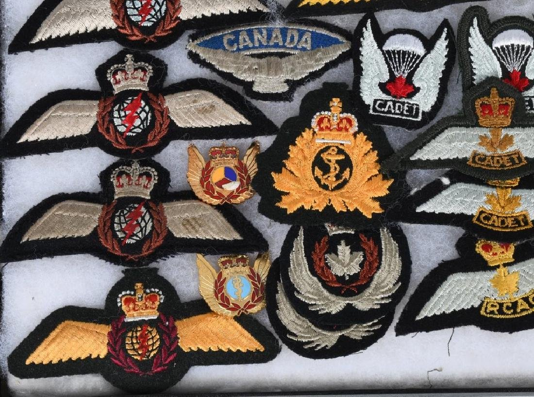 CANADIAN AIR FORCE WINGS LOT - 7