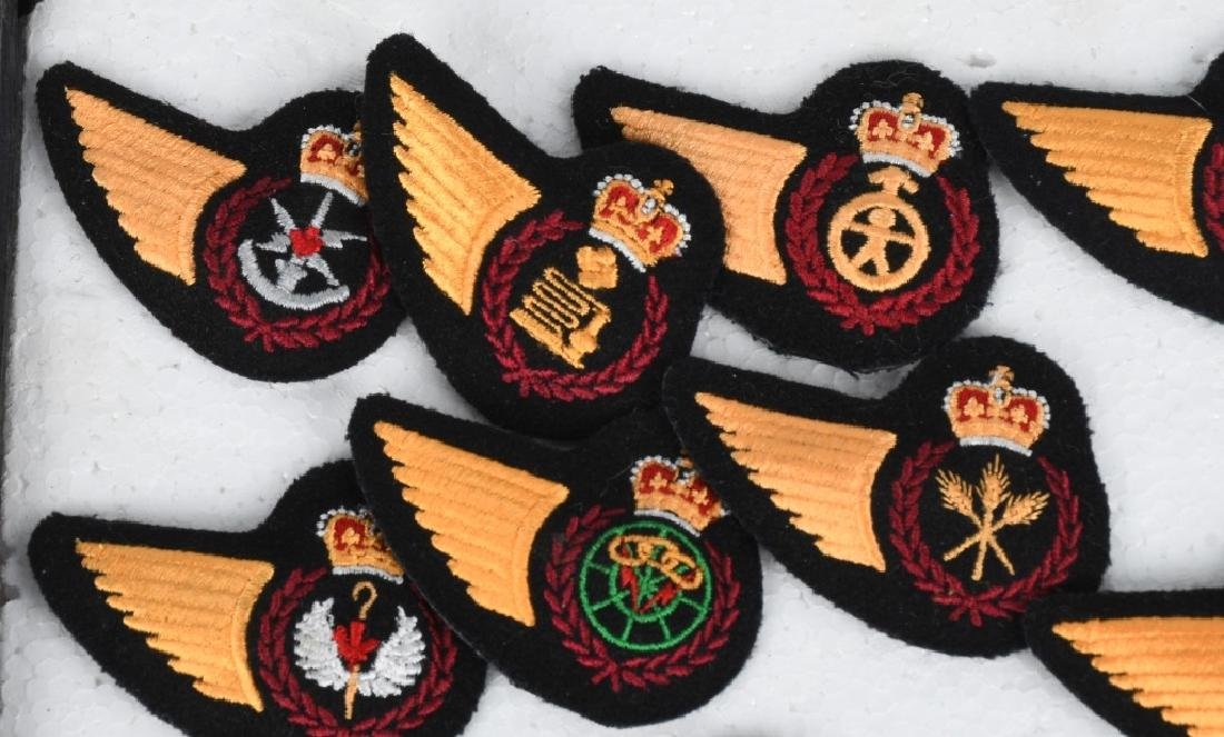 CANADIAN AIR FORCE WINGS LOT - 9