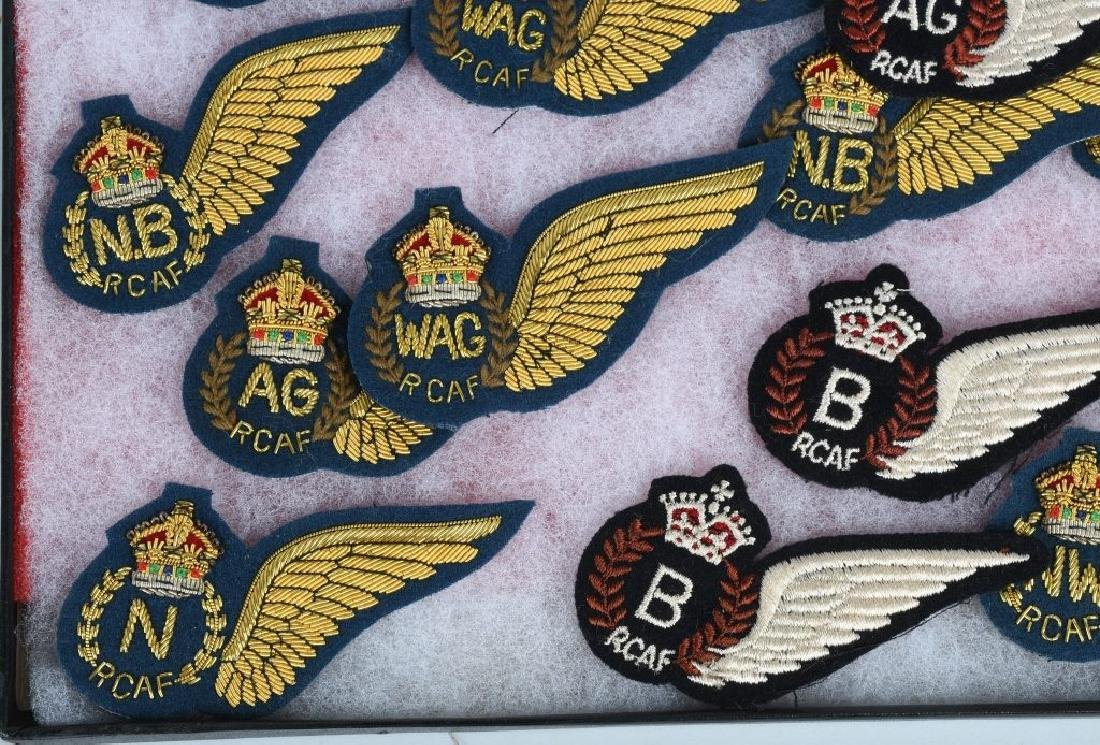 CANADIAN AIR FORCE WINGS LOT - 6