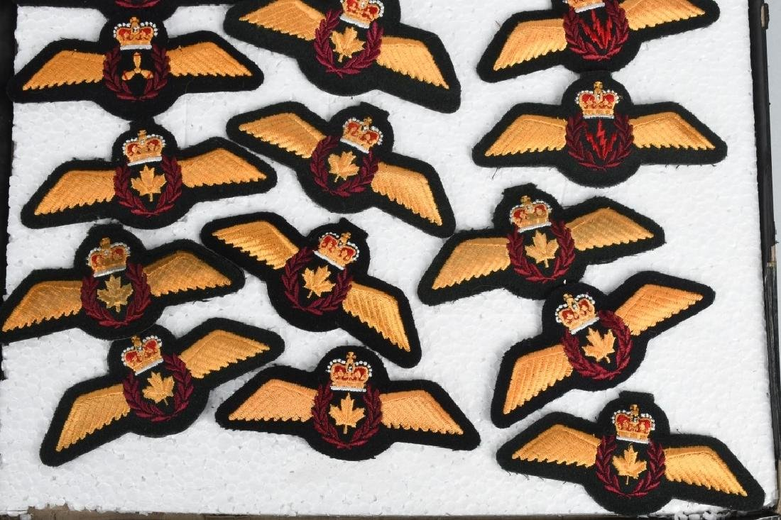 CANADIAN AIR FORCE WINGS LOT - 8