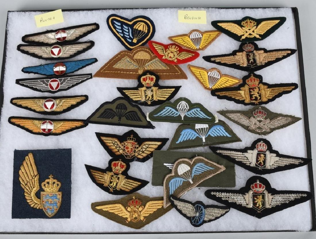 AIR FORCE INSIGNIA - WINGS AUSTRIA BELGIUM HUNGARY - 2
