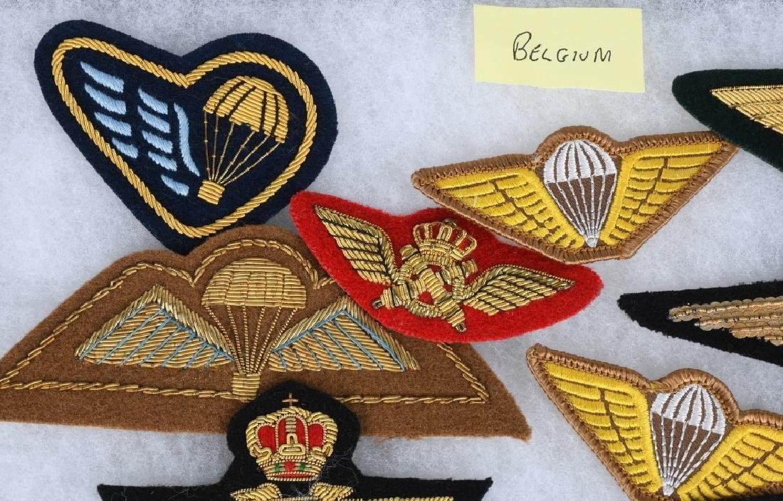 AIR FORCE INSIGNIA - WINGS AUSTRIA BELGIUM HUNGARY - 4