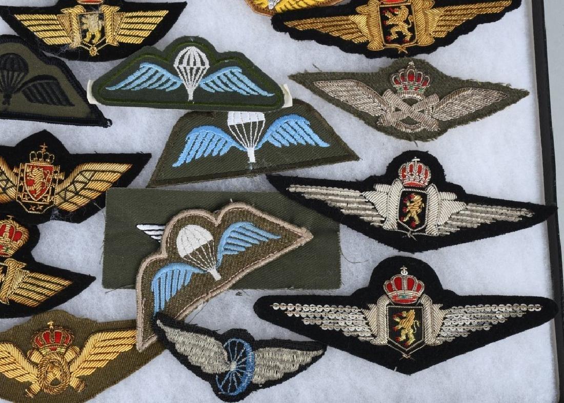 AIR FORCE INSIGNIA - WINGS AUSTRIA BELGIUM HUNGARY - 6