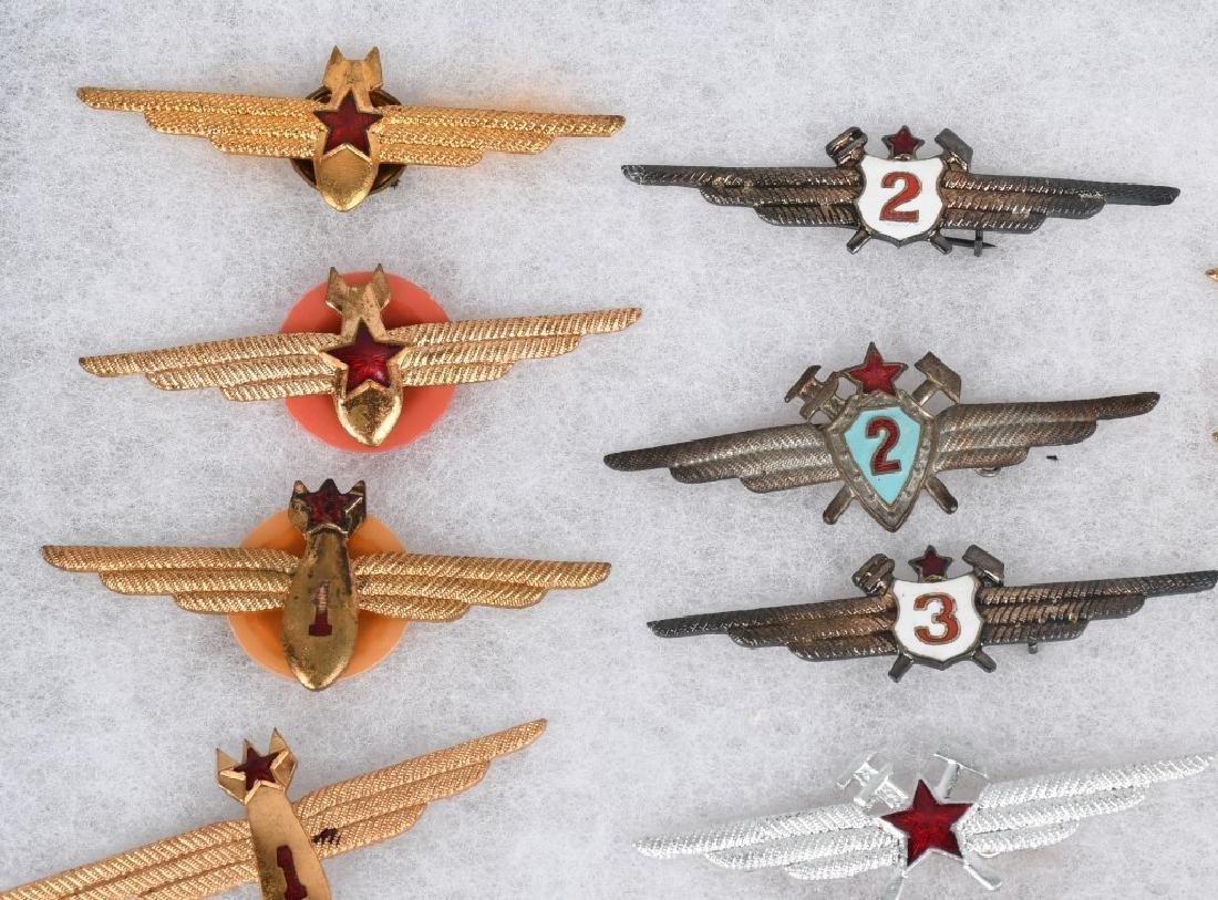 AIR FORCE INSIGNIA - WINGS AUSTRIA BELGIUM HUNGARY - 9