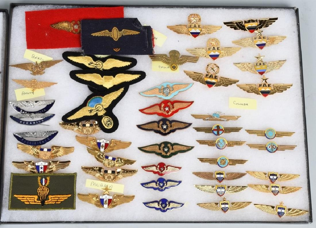 AIR FORCE INSIGNIA - CENTRAL AND SOUTH AMERICA - 2
