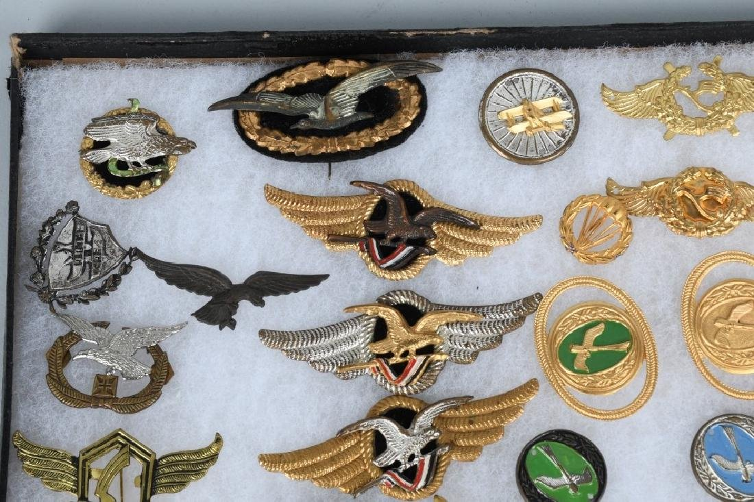 GERMAN LUFTANSA AIRLINES WINGS & INSIGNIA LOT - 2
