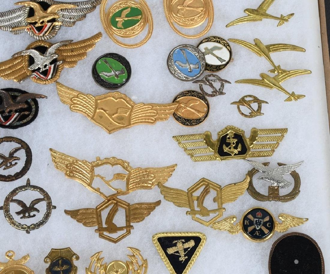 GERMAN LUFTANSA AIRLINES WINGS & INSIGNIA LOT - 4