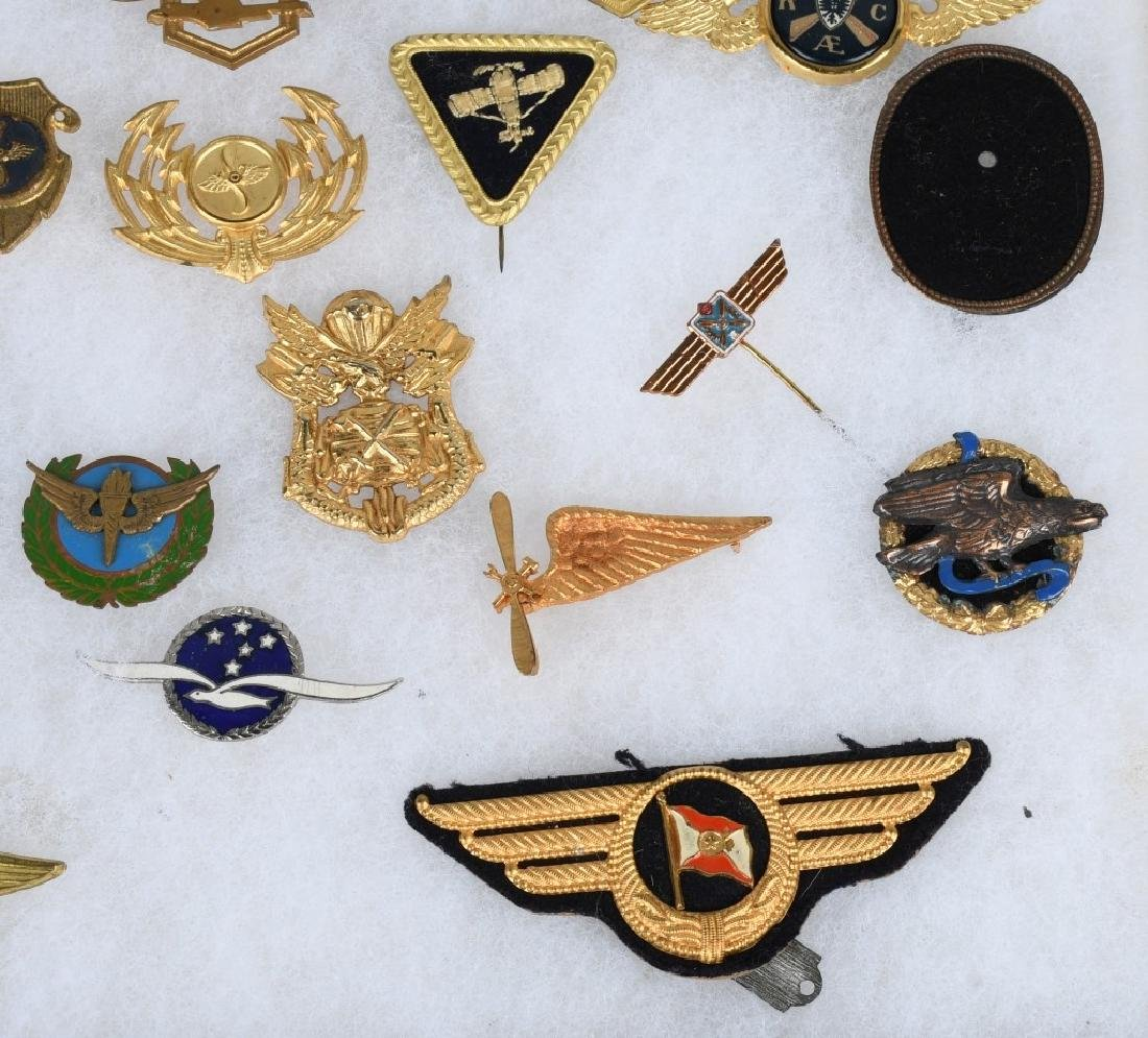 GERMAN LUFTANSA AIRLINES WINGS & INSIGNIA LOT - 7