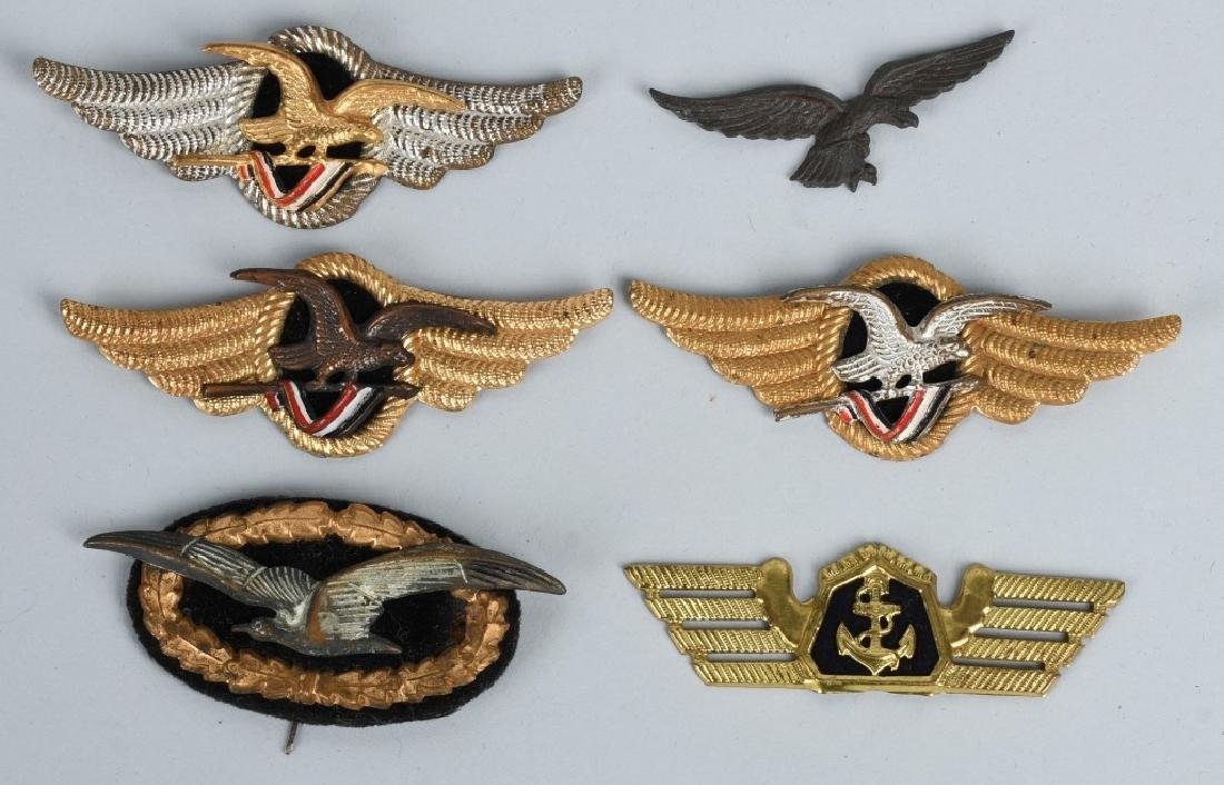 GERMAN LUFTANSA AIRLINES WINGS & INSIGNIA LOT - 8