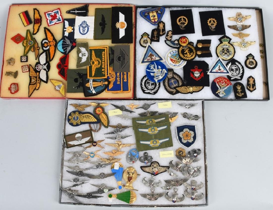 MISCELLANEOUS LOT OF AIR FORCE INSIGNIA