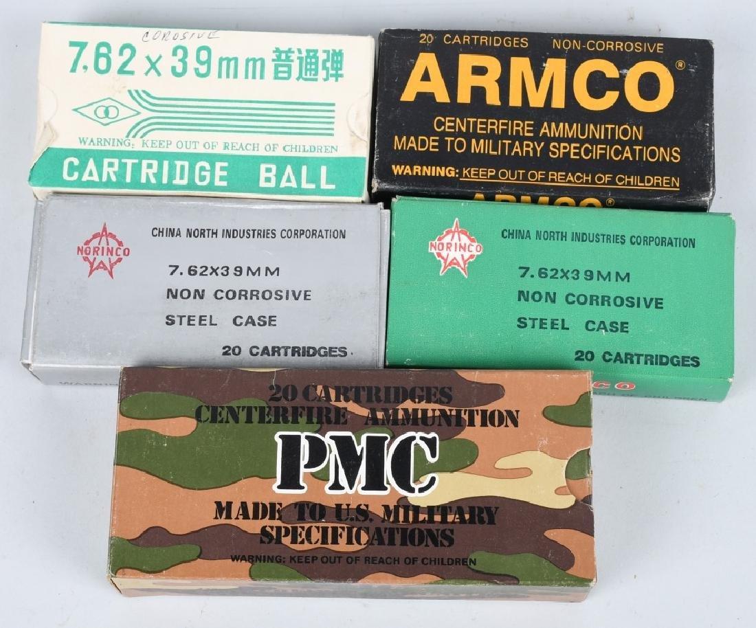 500- 7.62x30 AK47 AMMO - 2