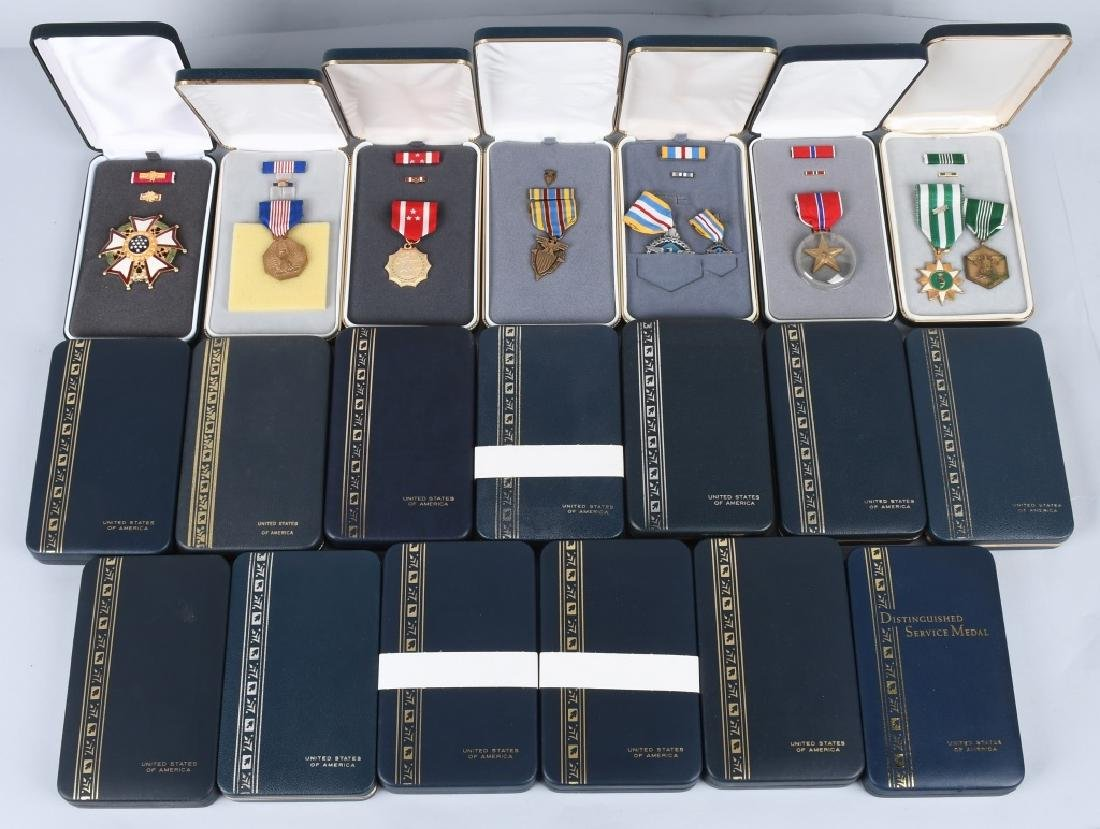UNITED STATES CASED MEDALS NEWER MANUFACTURE 20