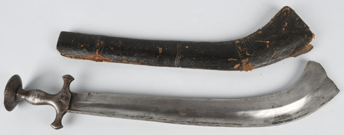 18th-19th CENT. INDO-PERSIAN EXECUTIONERS SWORD