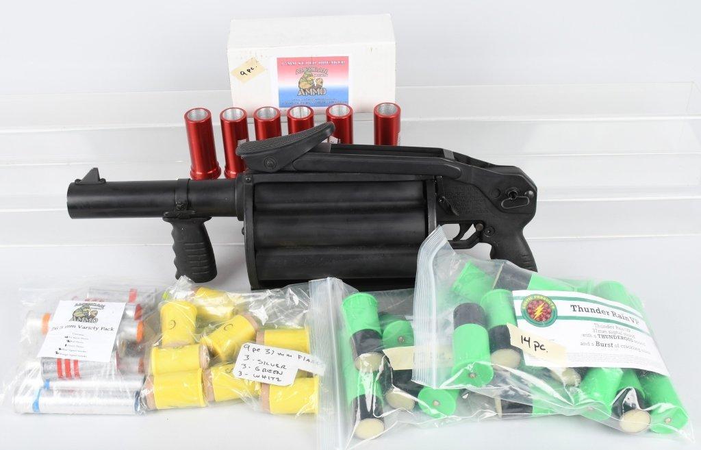 DEFENSE TECHNOLOGY L8 37mm 6 SHOT FLARE LAUNCHER