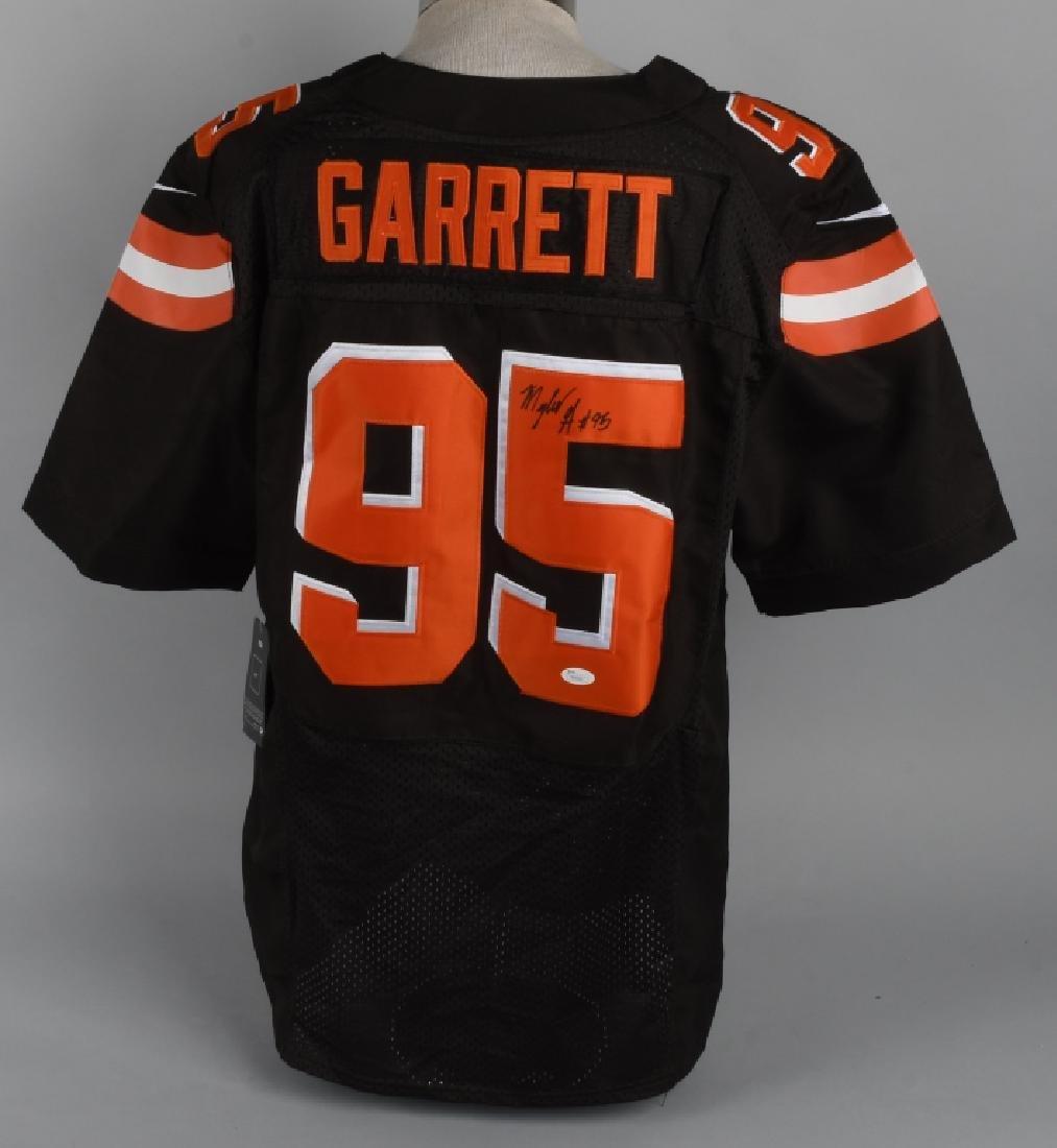 signed myles garrett jersey