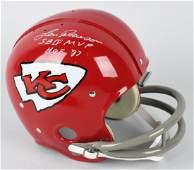Len Dawson Kansas City Chiefs signed Helmet