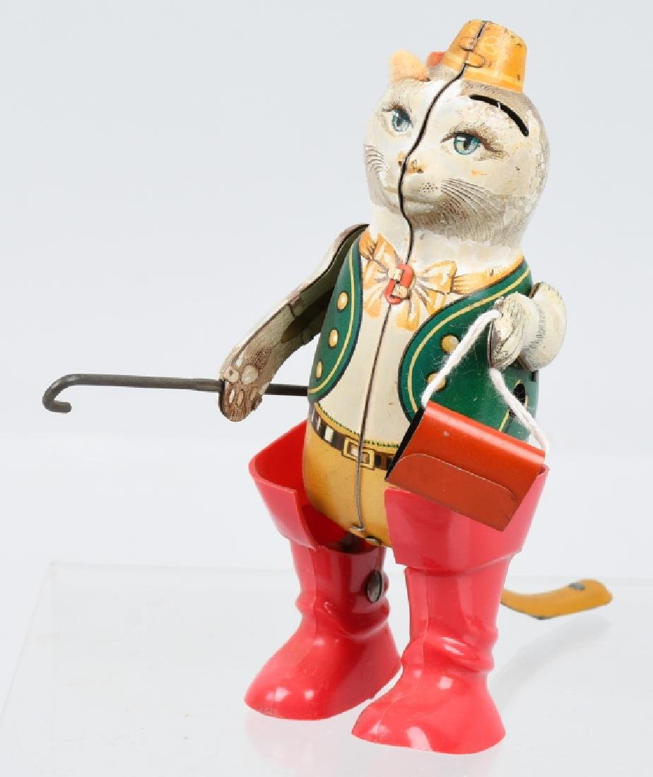 GERMAN PUSS -N-BOOTS TIN windup TOY